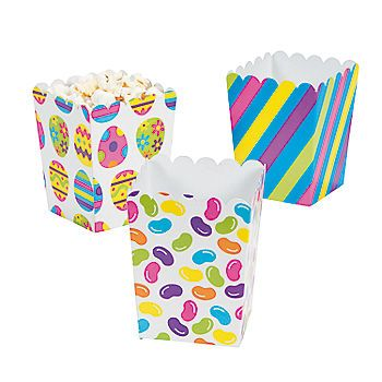 53 best easter popcorn images on pinterest easter recipes mini easter popcorn boxes negle Gallery