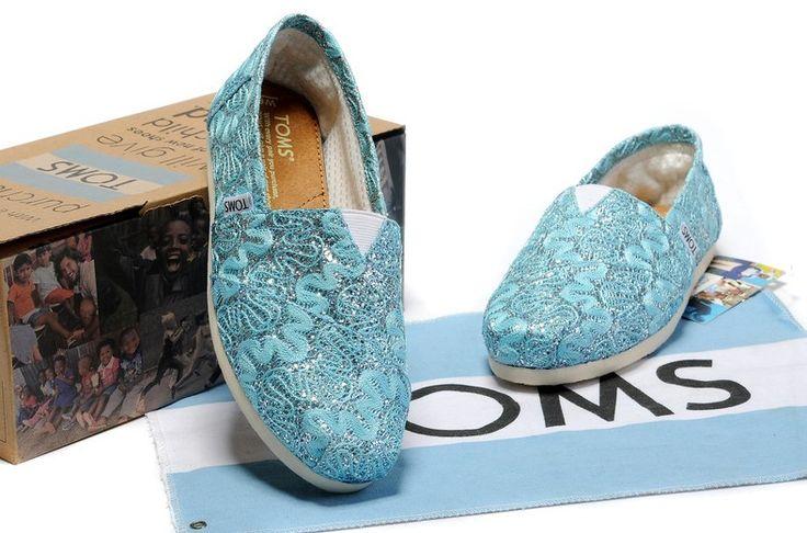 Blue lace Toms