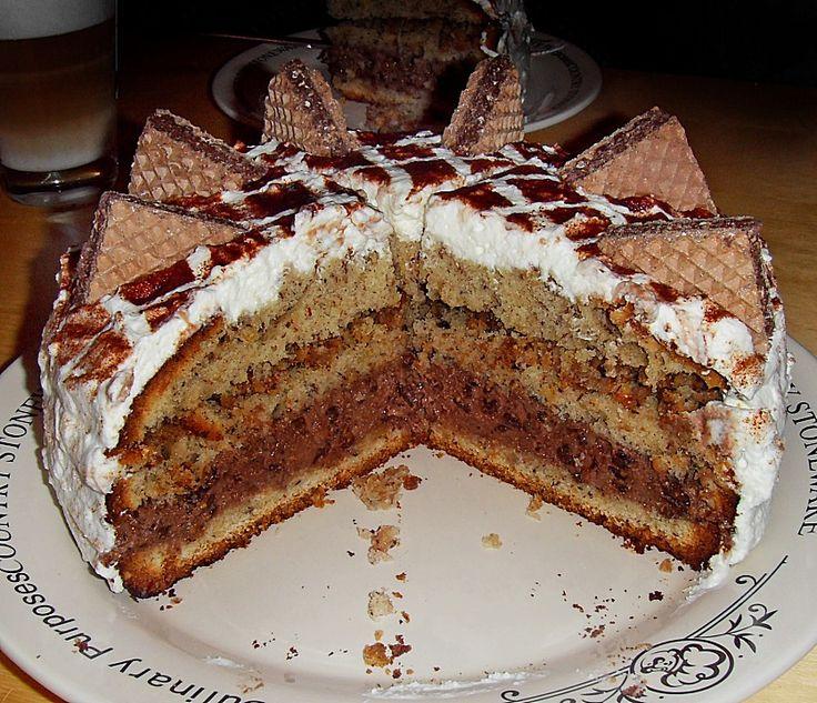 Geheime Rezepte: Hanuta - Torte