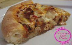 Pizza au poulet à la Mexicaine à la croûte farcie au fromage façon « cheesy-cheezy crust » de Pizza Hut 6