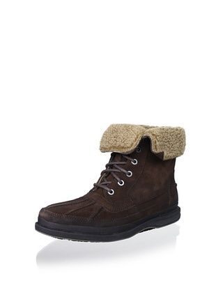 Rockport Men's Seabolt Place Lace-Up Boot (Snuff)