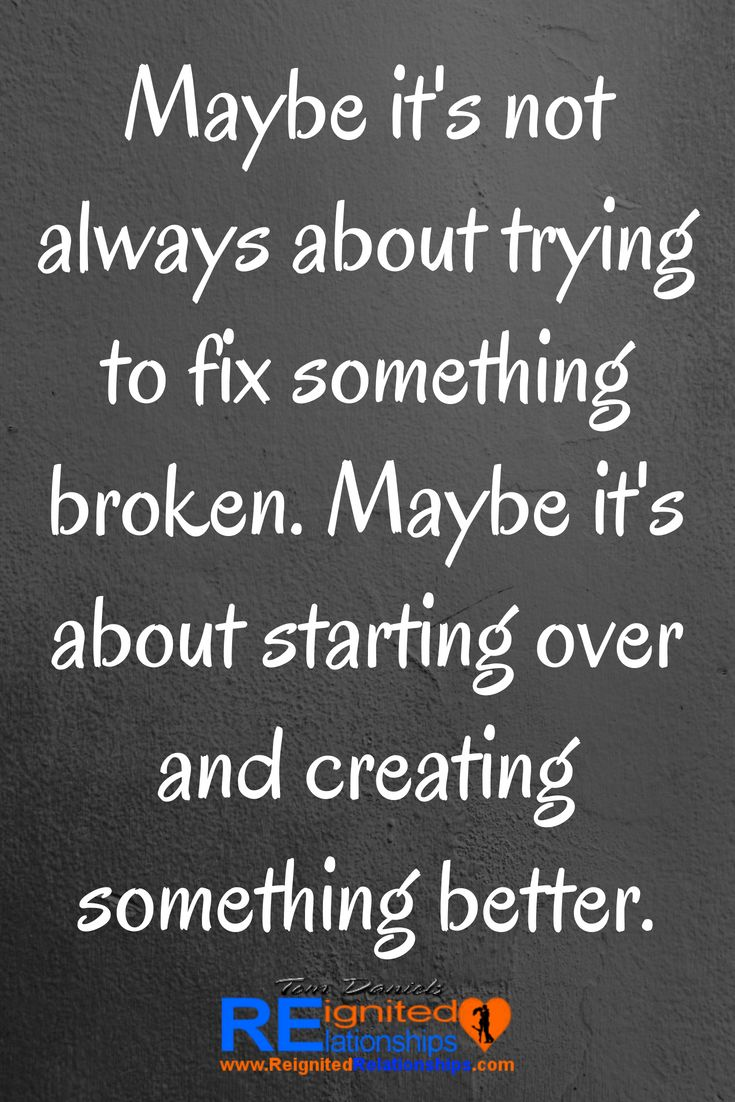 How To Fix A Broken Relationship And Never Lose Him Struggling