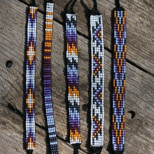 Image of Seed Bead Friendship Bracelet Collection 19