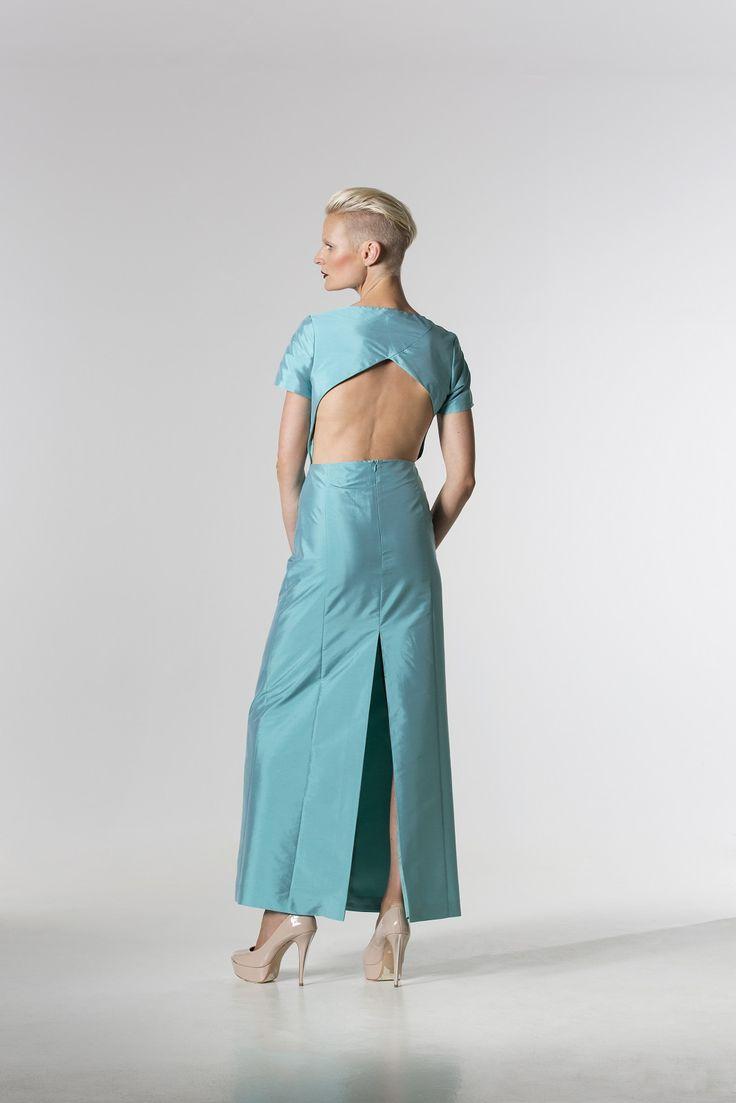 The @hanskapade Taffeta Dress http://spencerclothing.com