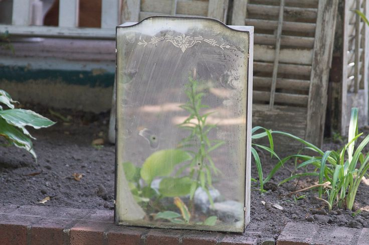 Antique Medicine Cabinet, Glass Mirror Metal Cabinet with Door, Old Medicine Cabinet, Vintage Medicine Cabinet salvaged from Victorian Home by lloydstreasures on Etsy https://www.etsy.com/listing/453607404/antique-medicine-cabinet-glass-mirror