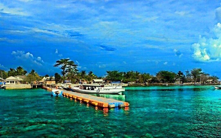 Dermaga Apung Pulau Gili Noko - Bawean - Gresik