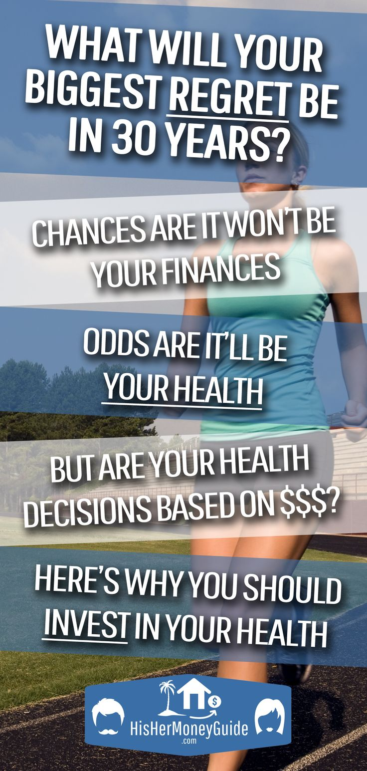 Listen To Your Future Self Never Scrimp On Your Health With