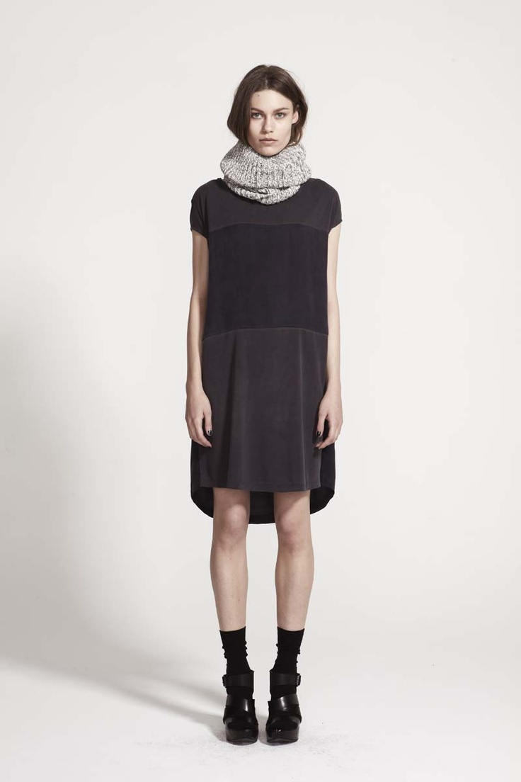 LIFEwithBIRD - Magnetism Dress. Great for winter 2013