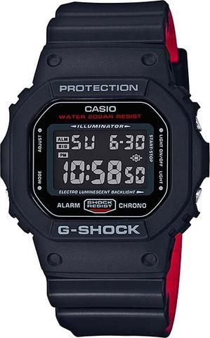Casio Mens G-Shock DW-5600 Series Watch (Model No. DW-5600HR-1) #gshock