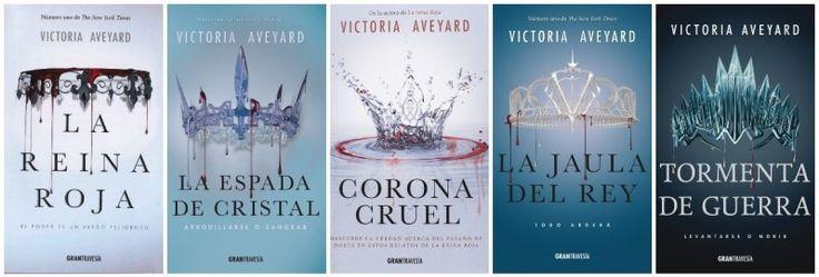 Saga la reina roja - Victoria Aveyard | La reina roja