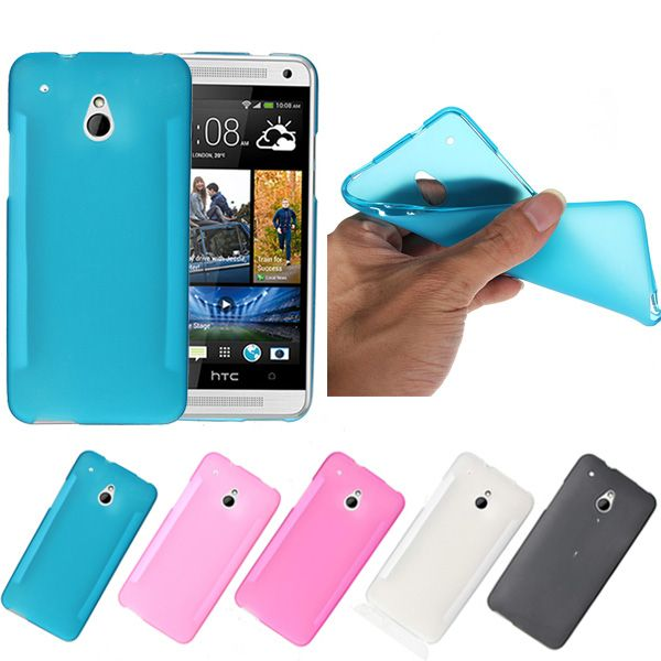 TPU Gel Silicone Soft Matte Back Case For HTC One Mini M4