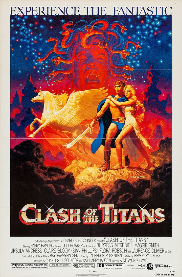 Furia de Titanes (Clash of The Titans), de Desmond Davis, 1981