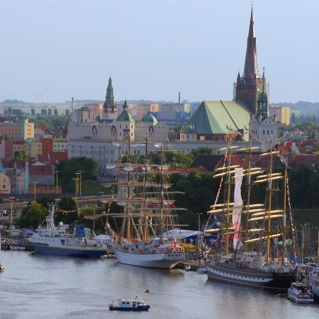 ships in #Szczecin in Poland