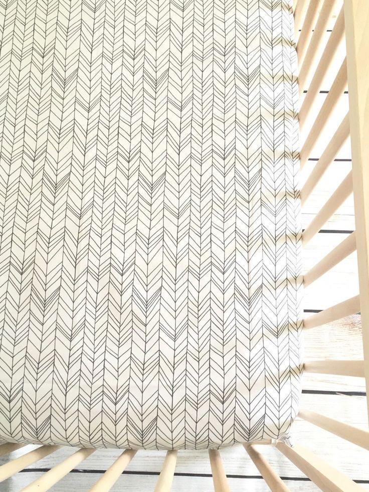 Crib Sheet in Herringbone White+Gray Featherland, Crib Bedding, Gender Neutral, Tribal Nursery, Chevron Bedding by FinleyBaby on Etsy https://www.etsy.com/listing/220377795/crib-sheet-in-herringbone-whitegray
