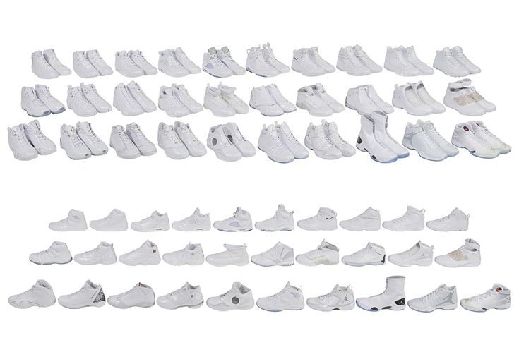 Jordan Brand's retirement gift to Kobe Bryant is up for auction today. All signature models 1-30 were gifted to Kobe Bryant in premium white leather. More: