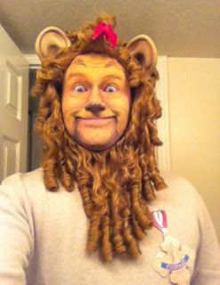 Amazing Cowardly Lion Makeup