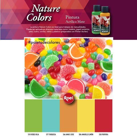 #PaletadecoloresNatureColors