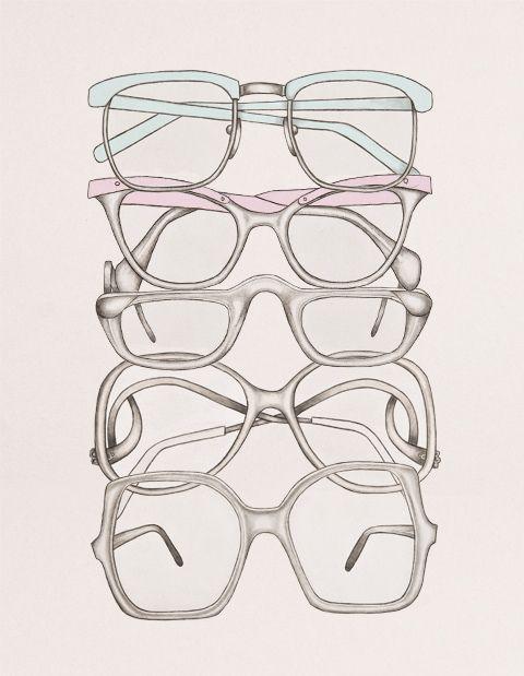 i sometimes wish i needed glasses...