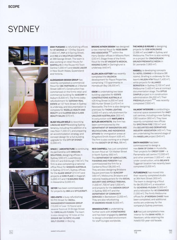 Artichoke issue 18 Page 1 Brooke Aitken Design