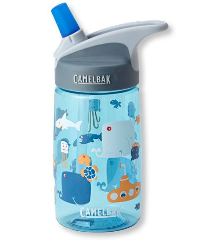 CamelBak Eddy Kids' Water Bottle, Print: Water Bottles | Free Shipping at L.L.Bean -- for levi