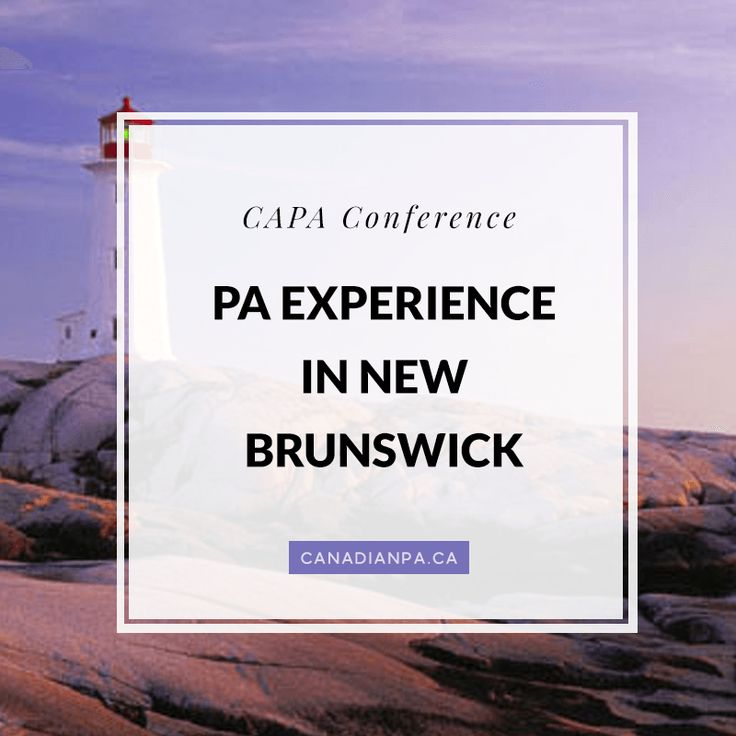 The Physician Assistant Experience in New Brunswick