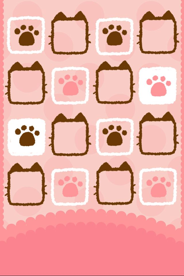 #cats #paws #iphone #wallpaper #iphonewallpaper #iphone4 #kawaii #cute #background