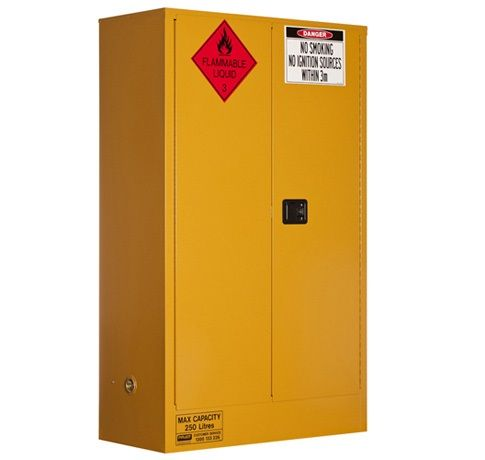 Flammable Liquids Storage Cabinets- 250 litre-5545AS| Spacepac Industries online Store.
