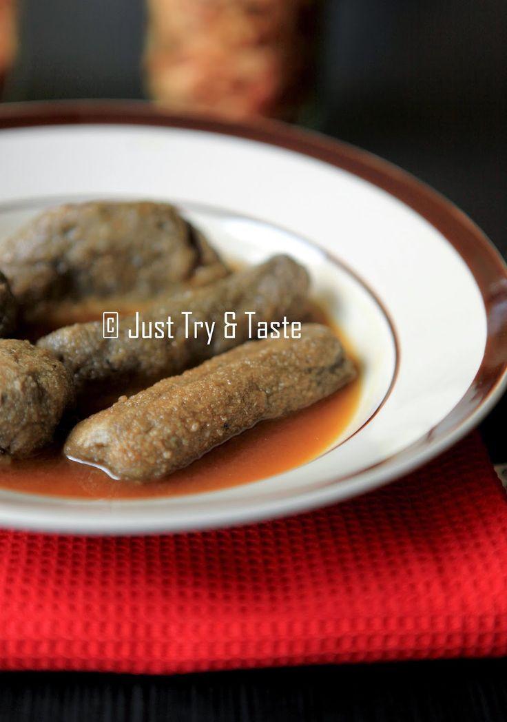 Pempek Ikan Teri | Just Try & Taste