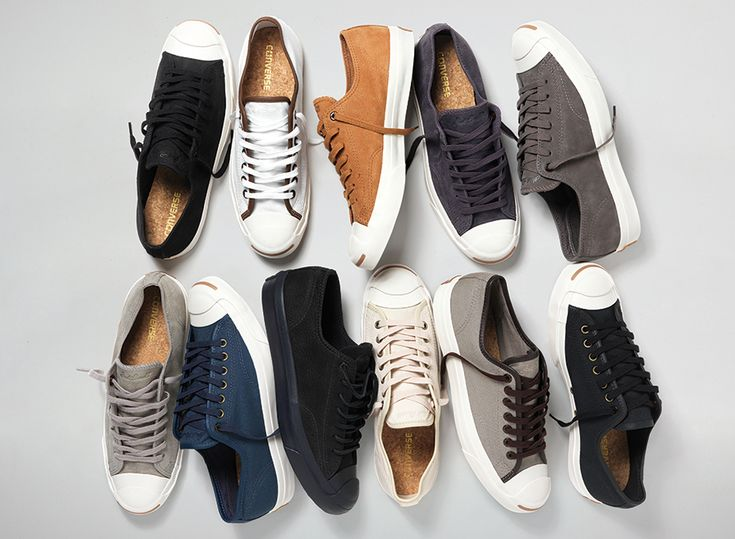 The Converse Jack Purcell pops up in several new colorways for this Spring.