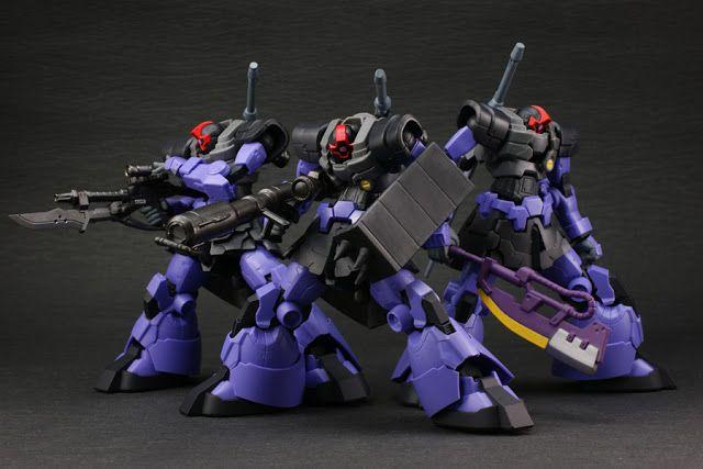 Banpresto: Gundam Series S.C.M. Black Tri Star ~ MS-9 Dom