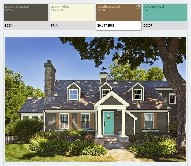 Benjamin Moore Exterior Tavern Charcoal Cw90 Weathered