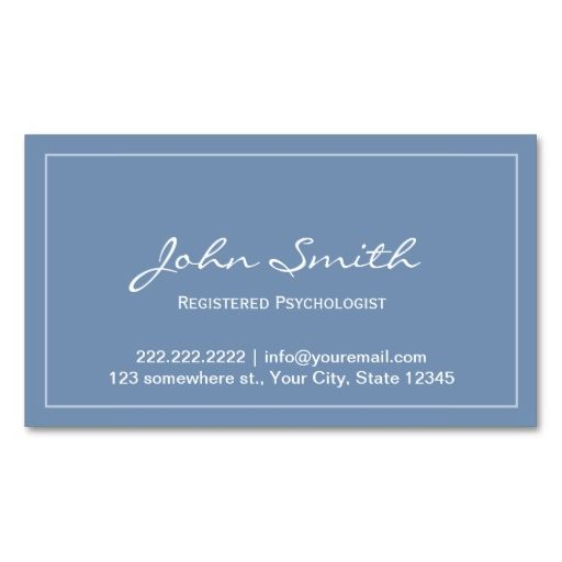 blue registered appointment card business card template this great business card design is available