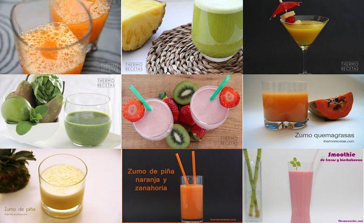9 deliciosas bebidas con frutas de primavera - Recetas Thermomix