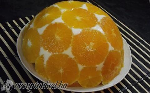 Narancsos torta recept fotóval