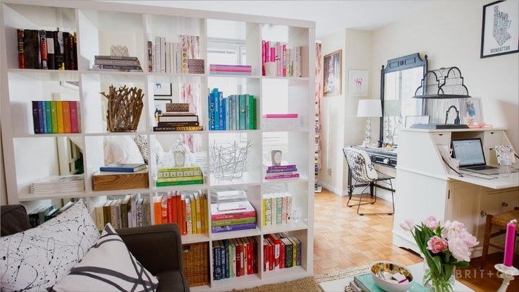 Tiny Spaces: A Book Lover's Chic Manhattan Studio