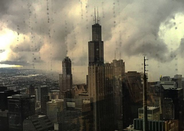 At around 5pm Monday, tornado sirens whined throughout Chicago and bouncedforebodingly off the skyscrapers downtown. Even if you didn't know what message the...