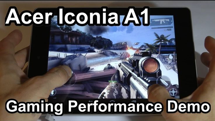 Acer Iconia A1 - Gaming Performance Demo (+playlist)