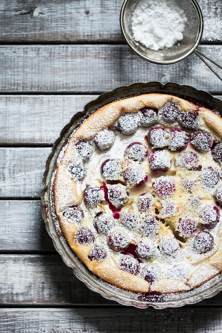 Julia's Cherry Clafouti #HappyBirthdayJulia