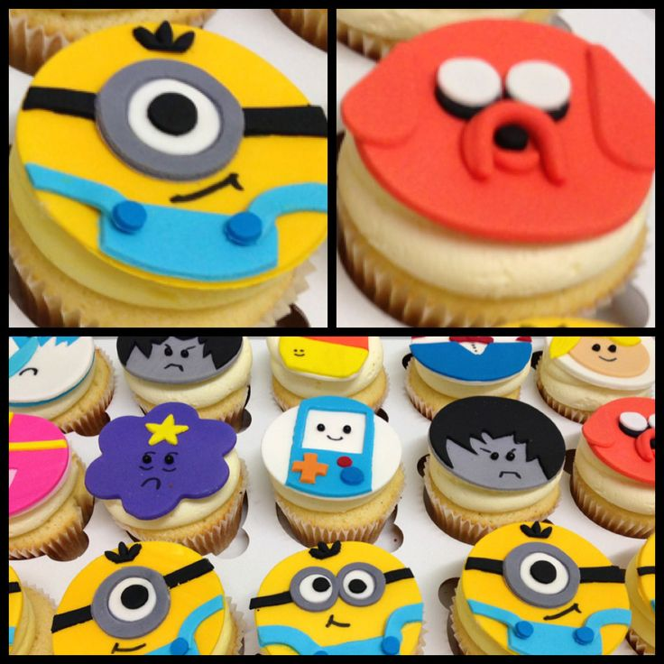 45 Best Images About Minnions Cupcakes On Pinterest