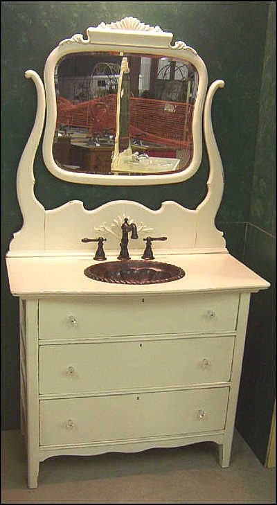 Pics Of Antique American Dresser for Bathroom Vanity