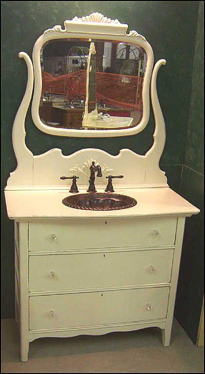 Best 25 Antique Bathroom Vanities Ideas On Pinterest