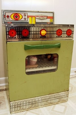 Wolverine Toy Stove - I still have mine.  And, I have the knobs.  I have the fridge too.