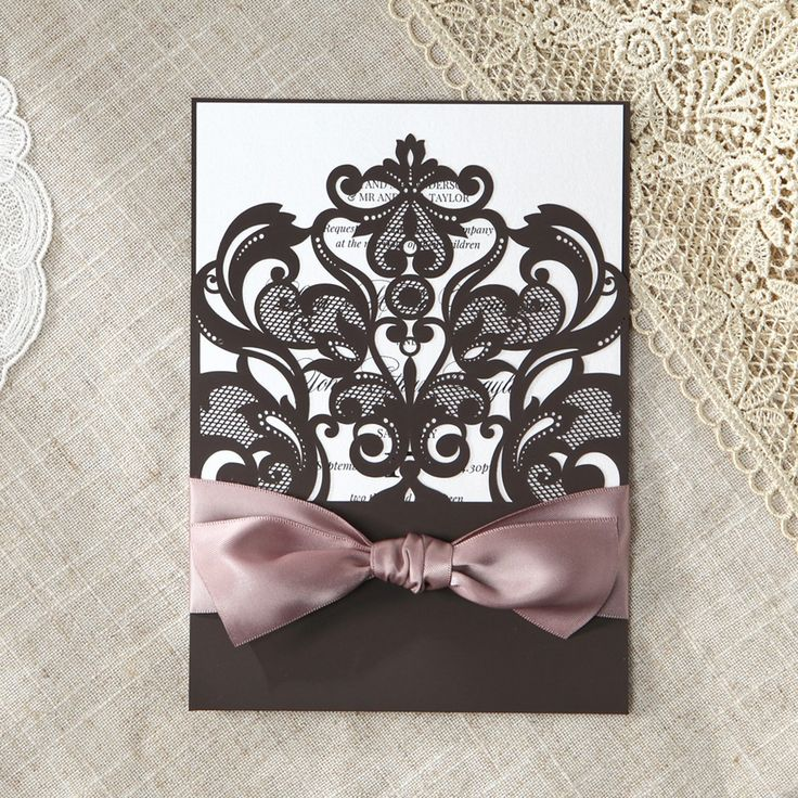 107 best Laser Cut Wedding Invitations images – Traditional Wedding Invitations Online