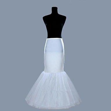 nieuwe+witte+1+hoepel+fishtail+zeemeermin+rok+trouwjurk+crinoline+petticoat+slips+–+EUR+€+17.63
