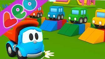 Leo le Camion benne Curieux - Chasse-Neige | Dessin anime francais pour enfant - YouTube