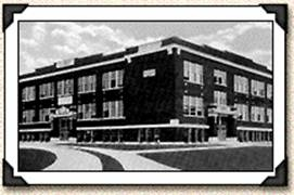 Martinsville High School (1913, no longer exists), South Main Street. My high school. Too bad it was torn down. Lots of good memories.