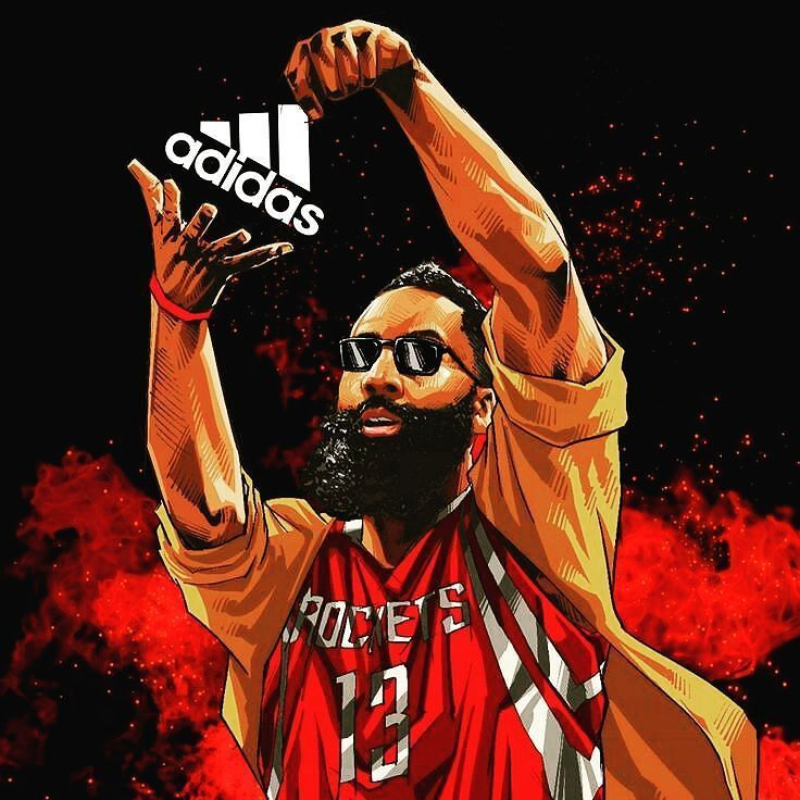 HighIQHoops Nba basketball art, James