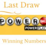 Last Powerball Lottery Draw, Winning Numbers. Draw Date 12/01/2017 04:00:00 AM GMT