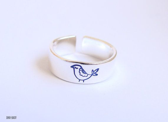 Personalised Sterling Silver Toe Ring on Etsy, $12.52
