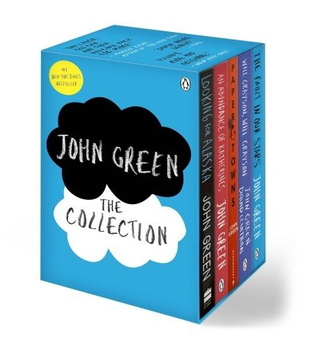 John Green - The Collection (The Fault in Our Stars + Looking for Alaska + Paper Towns + An Abundance of Katherines + Will Grayson, Will Grayson)